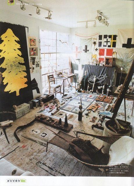 caitlin wylde - artist studio