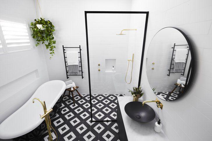 Block 2017 Bathroom Photos | Bathroom Week on The Block Is Complete, Let's See Who Won | POPSUGAR Home Australia Photo 38