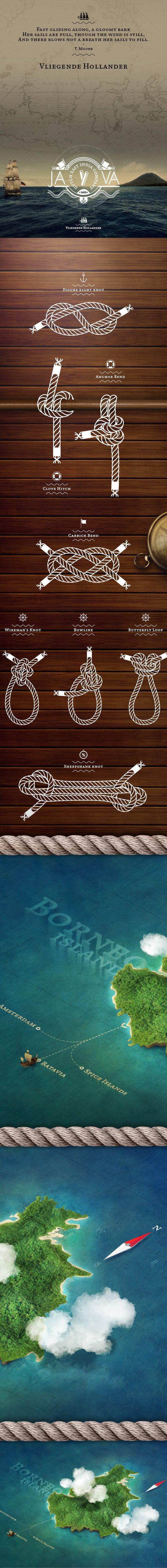 Vliegende Hollander by Alessandro Suraci, via Behance. | #webdesign #it #web…