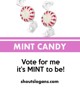 35 School Campaign Candy Slogans and Ideas