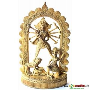 Durga - Sculpture - Rs 1,999 - Hand Made Crafts - Buy & Sell Indian Handmade Crafts and Handmade Jewelry and Gifts