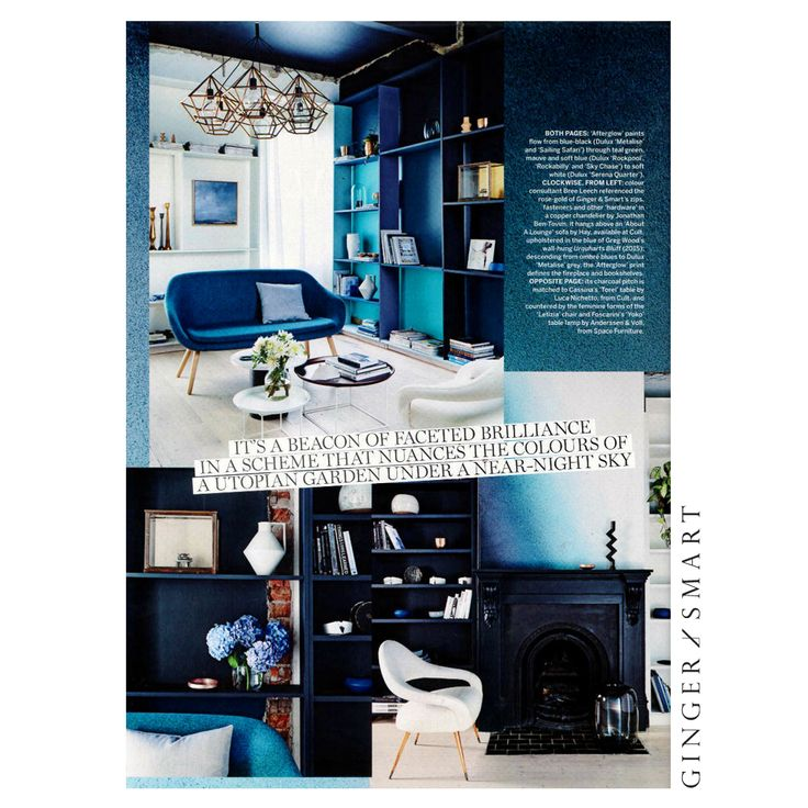 Where fashion meets design. This months Vogue Living with Dulux Australia.