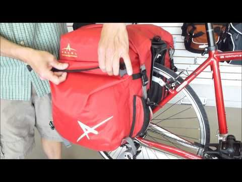 Dolphin 48 - waterproof and functional panniers for touring