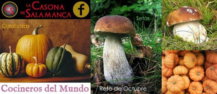 Eres amante de la cocina? Participa en el RETO DE COCINEROS DEL MUNDO. Participa, lo pasaremos muy bien y aprenderemos mucho.  http://cocinerosdelmundodegoogle.blogspot.com.es/2013/10/bases-del-reto-de-octubre-setas-o.html