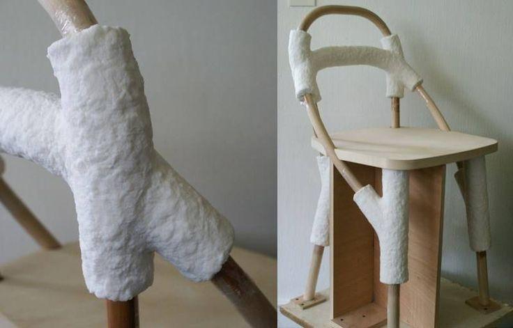 Chaise design zelfo elise gabriel galerie gosserez ideas - Chaise art contemporain ...