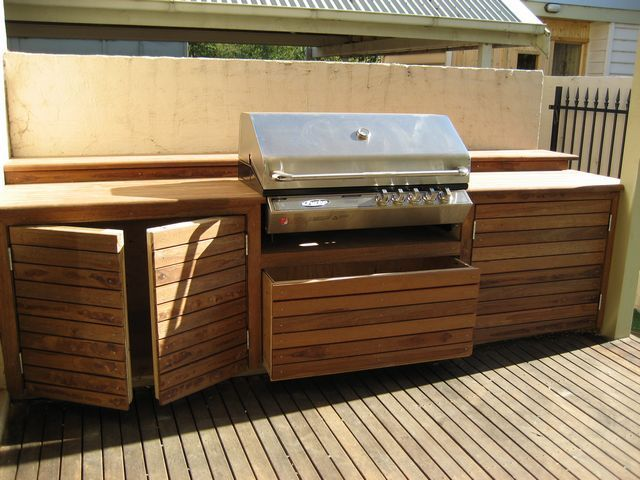 diy outdoor kitchen | visit backyardbliss com au