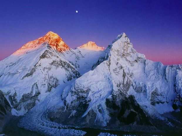 Mount Lhotse (8516m)-- the Guardian of Mt.Everest