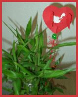 Herzchenstecker für den Muttertag