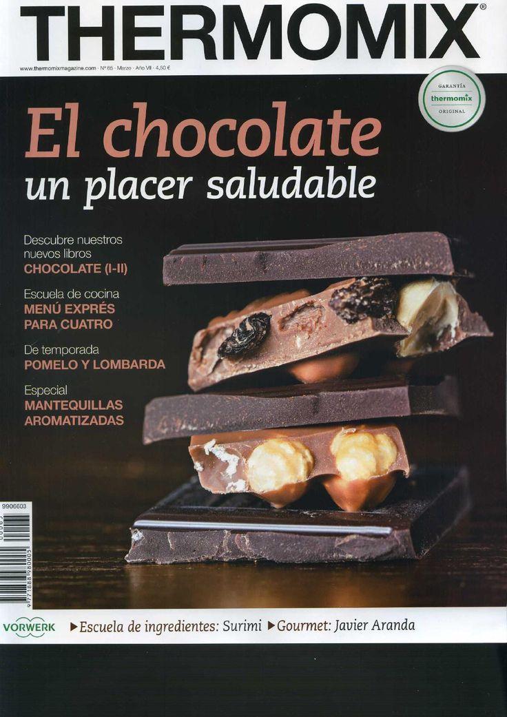 Rev. Thermomix nº 65. El chocolate, un placer saludable