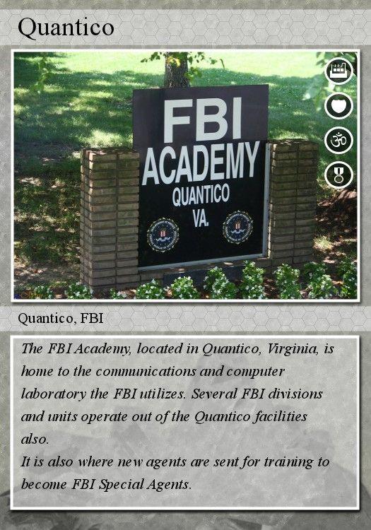 quantico va | Quantico, Virginia is the famous host to the large FBI offices and FBI ...