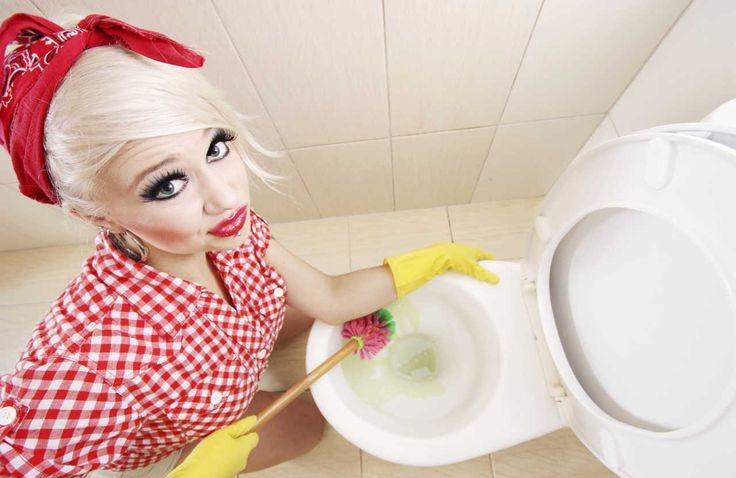 Elimina las manchas del inodoro