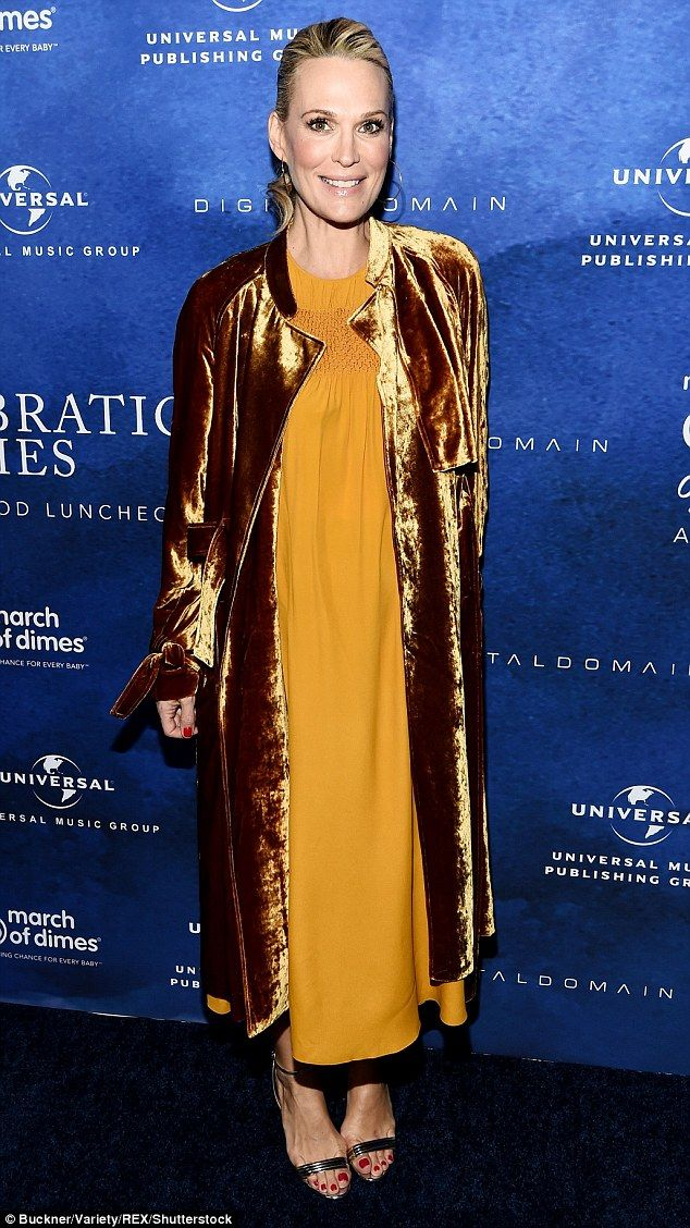 Party for a good cause: Molly Sims joined a star-studded crowd at the annual March Of Dimes Celebration of Babies on Friday