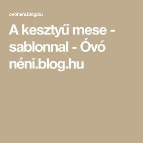 A kesztyű mese - sablonnal - Óvó néni.blog.hu