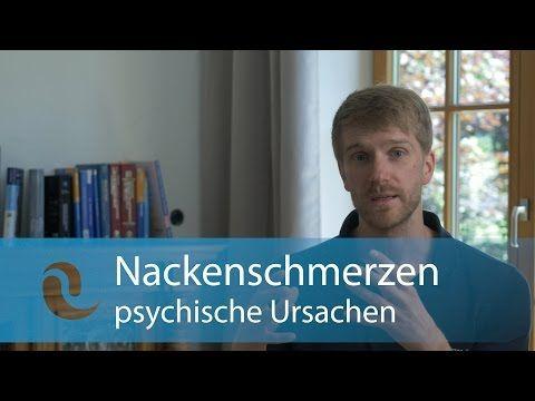 Nackenschmerzen – Ursachen & Übungen