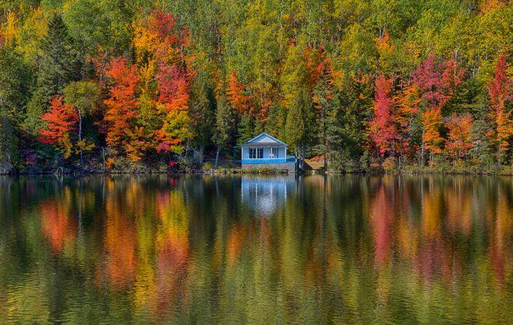 ***Autumn (Baie-Sainte-Catherine, Quebec) by Jens Bernard