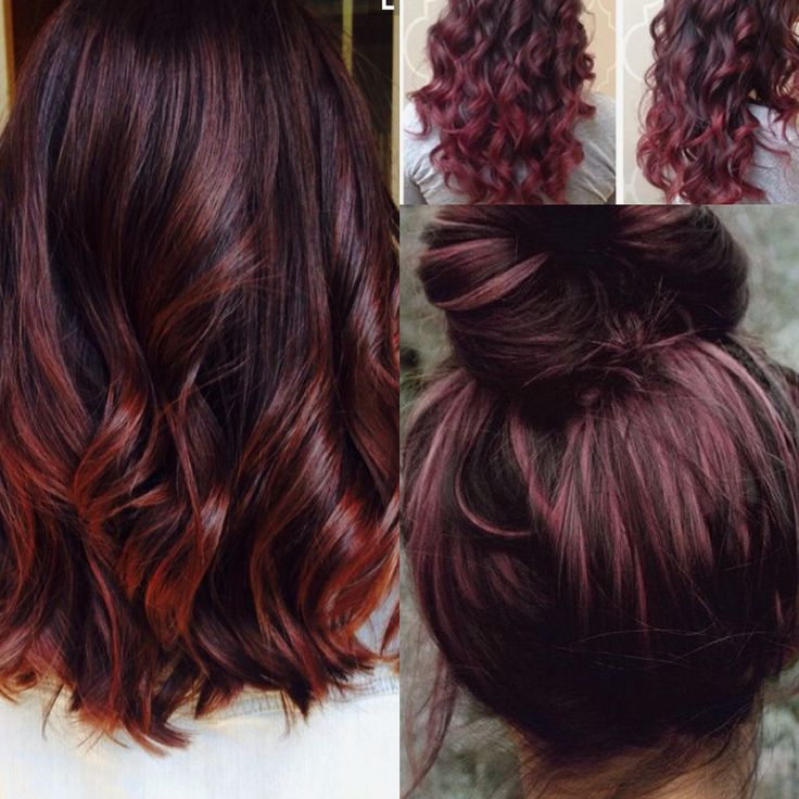 14 Best Red Balayage Images On Pinterest Hair Colours Hair Dos