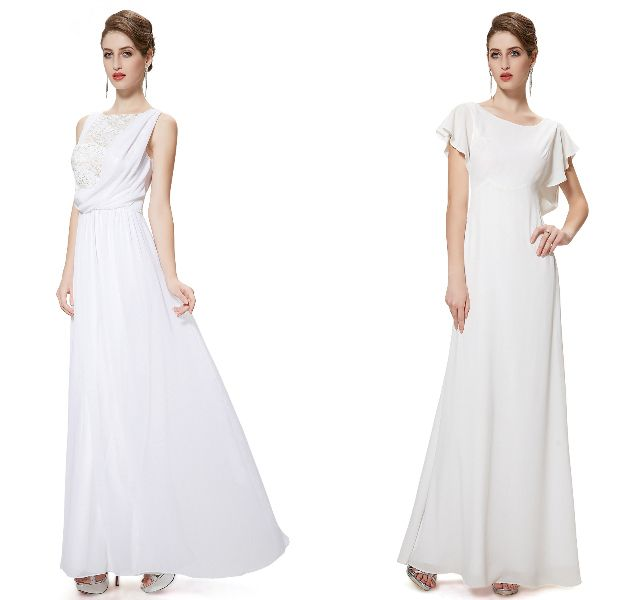 White elegant from Ever-Pretty.