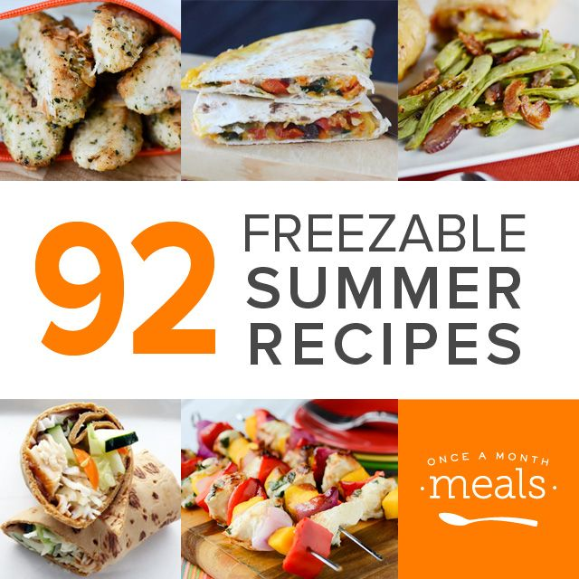 92 Freezable Summer Recipes