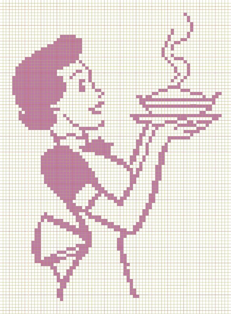 17 meilleures id es propos de point de croix vintage sur pinterest broderie chicken scratch. Black Bedroom Furniture Sets. Home Design Ideas