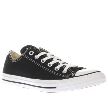 Converse Black All Star Oxford Womens Trainers A true icon, the Converse All Star Oxford arrives in a slick monochrome colourway. Staying true to its roots, the black and white style features classic details such as a canvas upper, rubber toe cap  http://www.MightGet.com/january-2017-13/converse-black-all-star-oxford-womens-trainers.asp