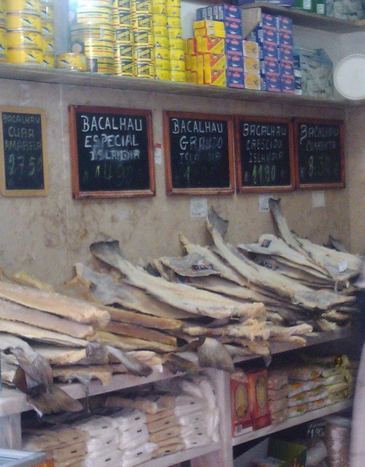 Bacalhau - dry codfish