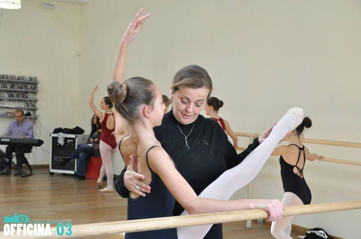 La nostra grande Maestra Clarissa Mucci a Pasqua in  Danza 2015 per Montecatini Danza !!!