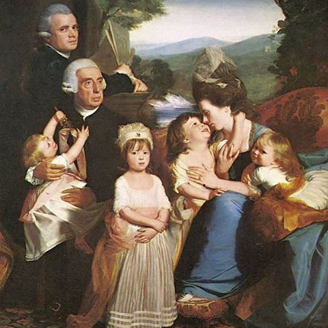 The Family. Uff! Those powdered wigs. Zurbaran family portrait.  Hire your local portrait painter for a quick shot if the gang gathered on the sofa?  Okay maybe not, but you can get started any time learning about your family tree. Oh...and that family estate...1000s of hectares I bet :) #painting #parents #mummyblogger #mummy #momlife #artist #kids #portrait #familytree #familyhistory #history #roots #genealogy #zurbaran #wig #timelinesresearch…