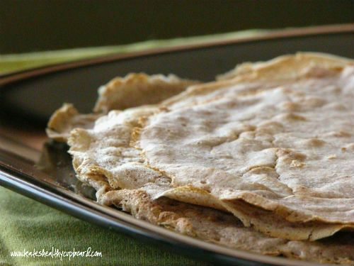 Grain Free Plantain Flour Tortillas  www.kateshealthycupboard.com