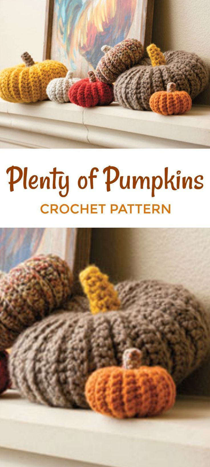 Plenty of Pumpkins Crochet Pattern, Add a fun touch to your fall ...