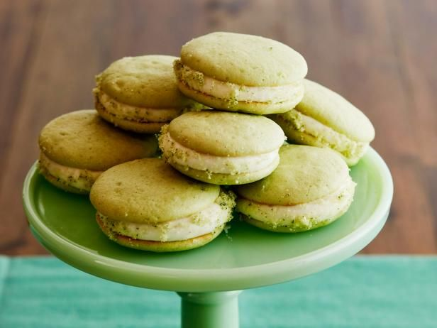 Get Mint Julep Whoopie Pies Recipe from Food Network