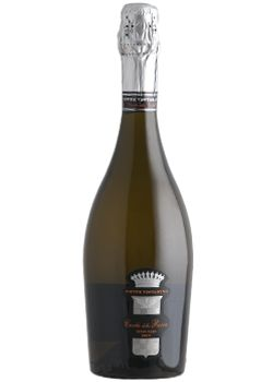 Pinot Noir 85%, Chardonnay 15% Excellent as aperitif, is very suggested with starters, shell-fish and White meats.  http://www.papounti.it/cantine/contevistarino/Spumante/CUVEE-della-Rocca/2006/411