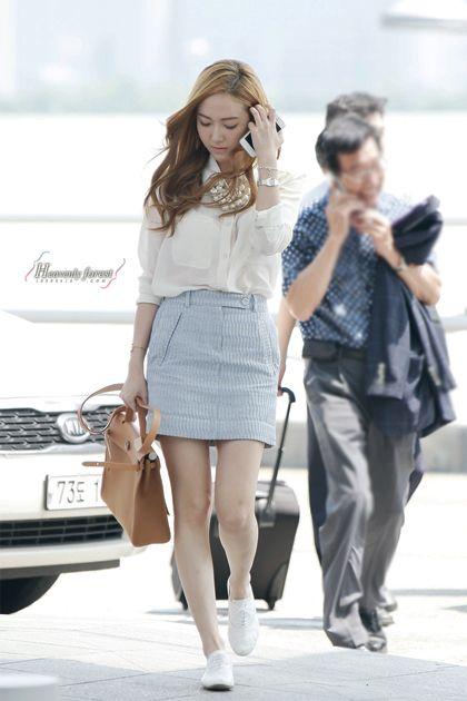 Appreciation Jessica Jung 39 S Airport Fashion Celebrity