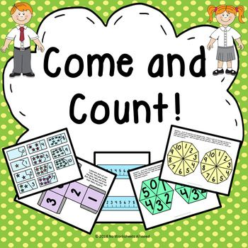 EYFS counting activities and resources.