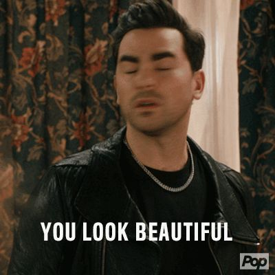 New trending GIF on Giphy. pretty beautiful compliment david rose dan levy schitts creek daniel levy you look beautiful. Follow Me CooliPhone6Case on Twitter Facebook Google Instagram LinkedIn Blogger Tumblr Youtube