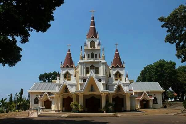 Cathedral of Our Lady of Holy Rosary, Cathedral of Diocese of Larantuka, Flores, Indonesia