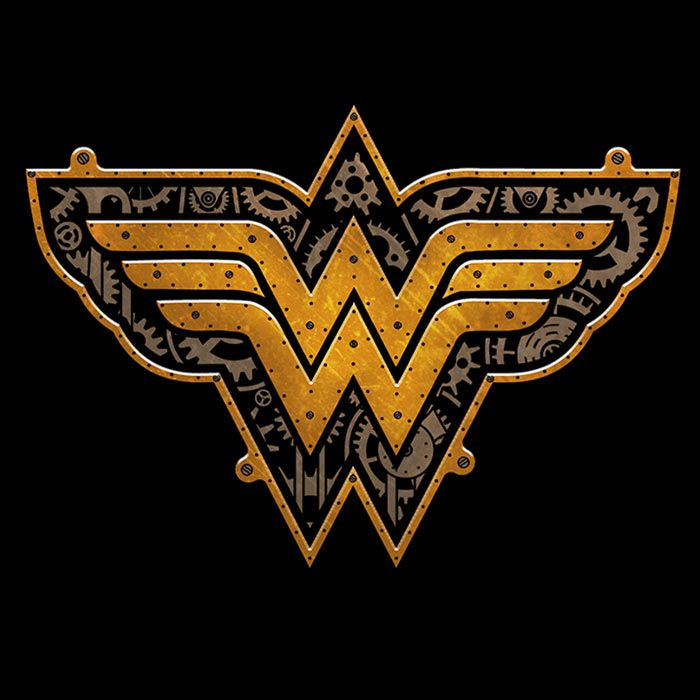 Exclusive Steampunk Wonder Woman T-Shirt - The Shirt List""
