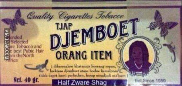 Katanya Ini Rokok Tempo Dulu, Nama Rokoknya Bagus Coeg