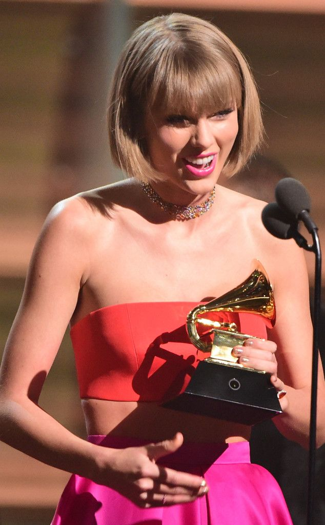 Taylor Swift Slams Kanye West During Acceptance Speech for Album of the Year at Grammy Awards 2016  Taylor Swift, 2016 Grammy Awards, Winners