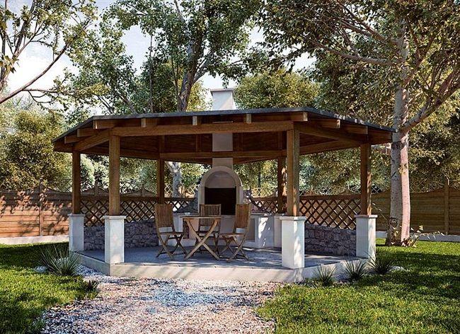inspiracje w moim mieszkaniu: Jak urządzić grilla w naszym ogrodzie czyli altana...