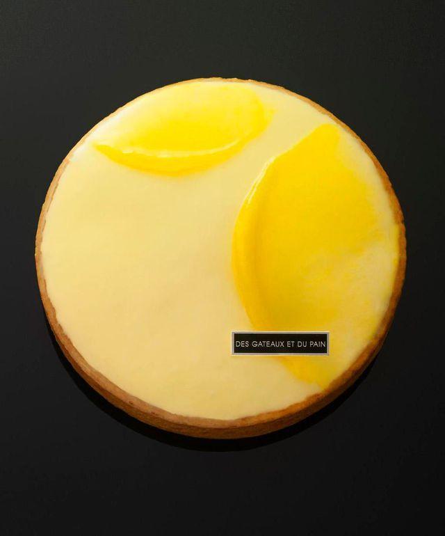 Absolu citron, l'un des desserts signatures de Claire Damon à Des Gâteaux et du pain.