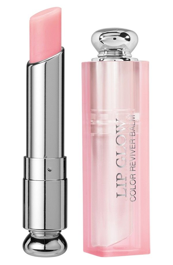 Love that the Dior 'Addict Lip Glow' color reviver balm enhances natural lip color, moisturizes & offers sun protection.