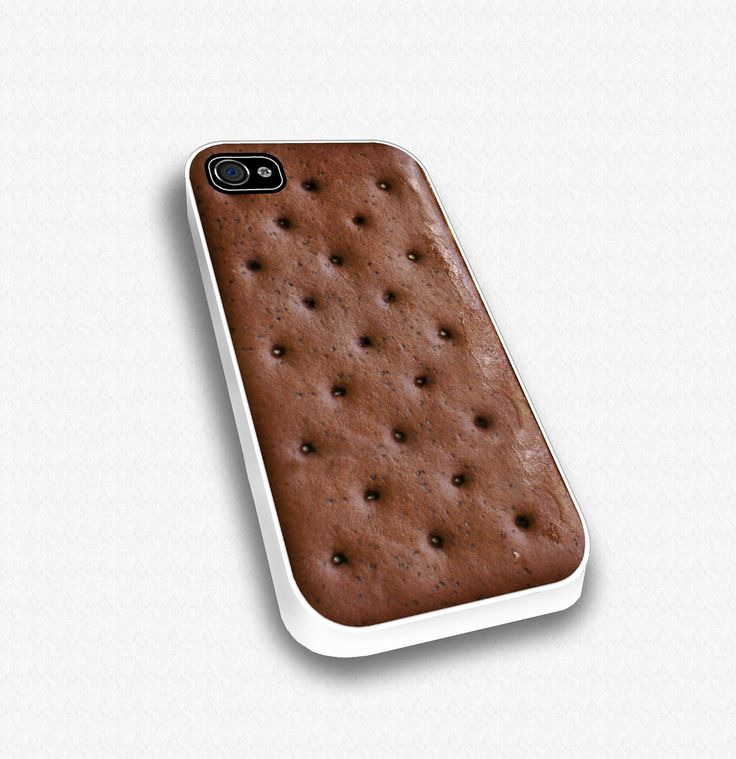 Ice Cream Sandwich -  iPhone case for iphone 4 and 4S. $17.99, via Etsy.