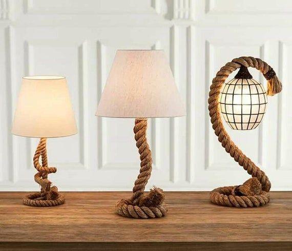 Rustic Table Lamps, Ocean Themed Lamps