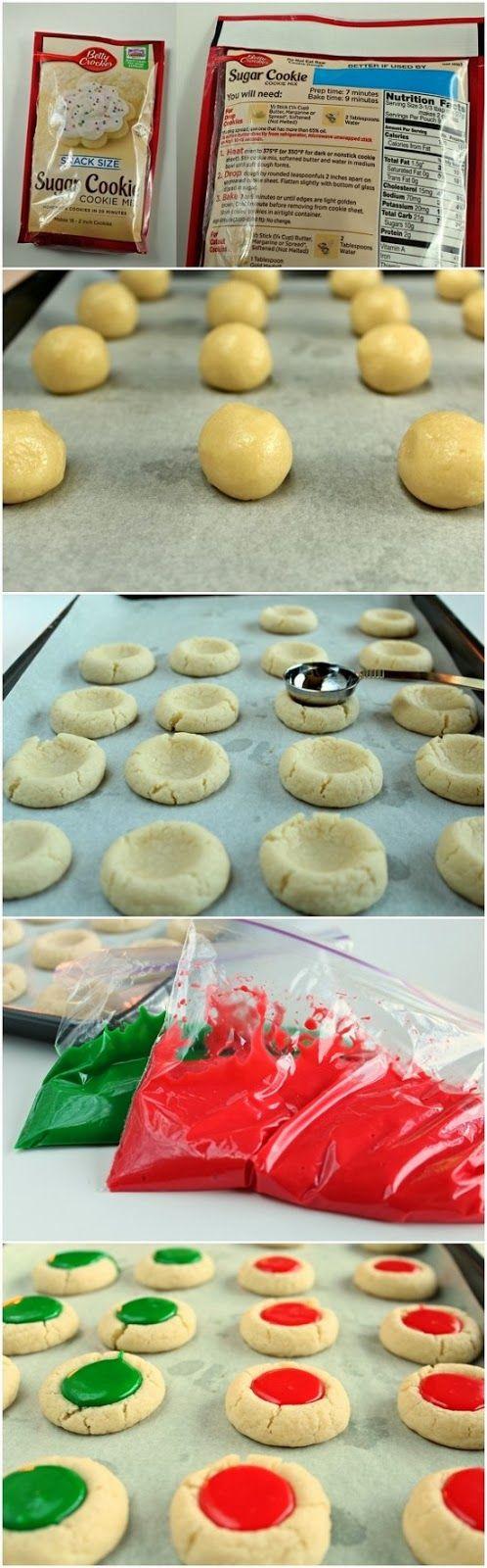 Christmas Thumbprint Cookies ~ Allrecipecenter