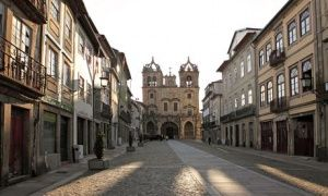 Morning at the Cathedral in Braga, Portugal