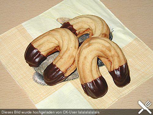 Marzipan - Spritzgebäck (Rezept mit Bild) von naschkatze65 | Chefkoch.de