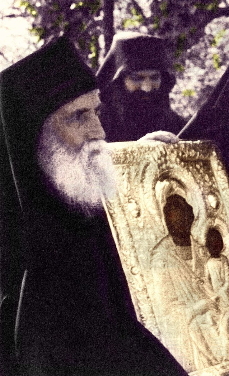 "Elder Paisios: ""I like all the icons of the Panagia. Even if I find Her name written somewhere, I embrace it many times with reverence and my heart leaps..."" http://www.johnsanidopoulos.com/2012/08/elder-paisios-favorite-icon-of-panagia.html"