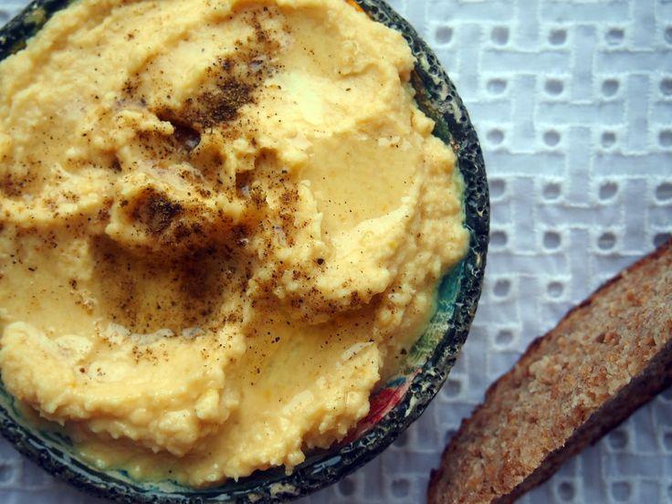 Vege Szamanka: Pasta z żółtego grochu - bez namaczania, superszybka