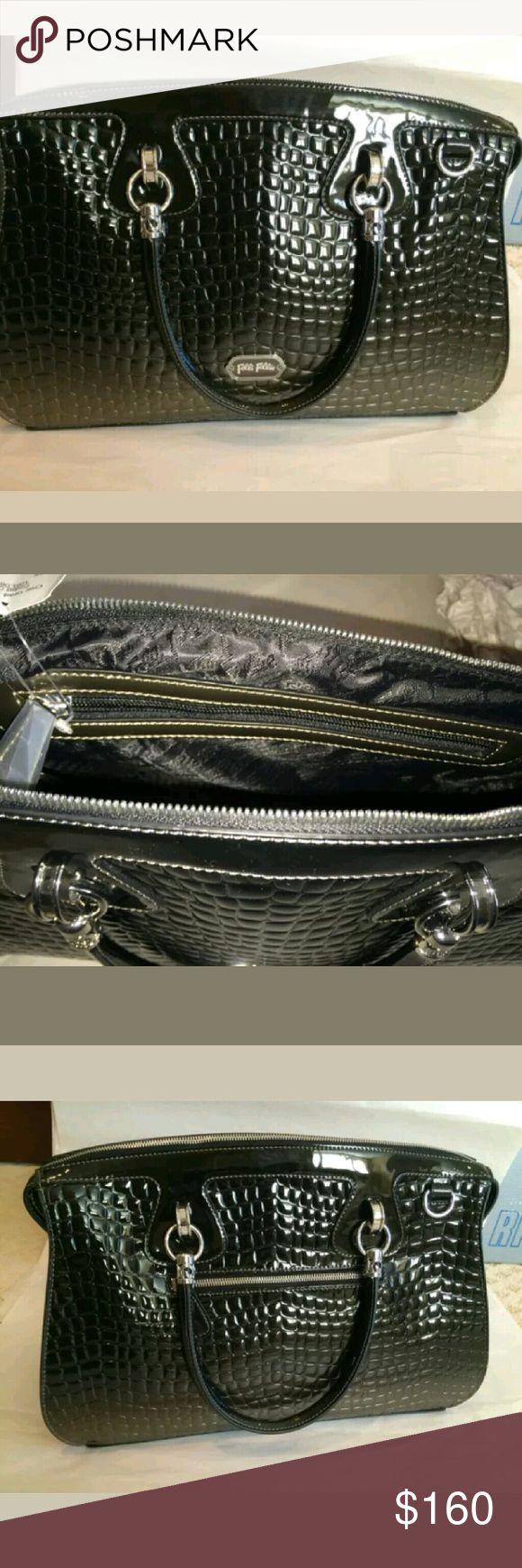 Folli Follie handbag Folli Follie handbag used black n gray Folli Follie Bags