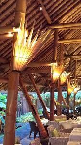 Resultado de imagem para Chinese Restaurants+terrace bamboo design